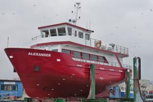 Modernisierung des modernen Fahrgastschiff MS-Alexander nach den neuesten EU Vorschriften und höchsten Sicherheitsanforderungen mit ausreichend Platz und Komfort für 90 Passagiere